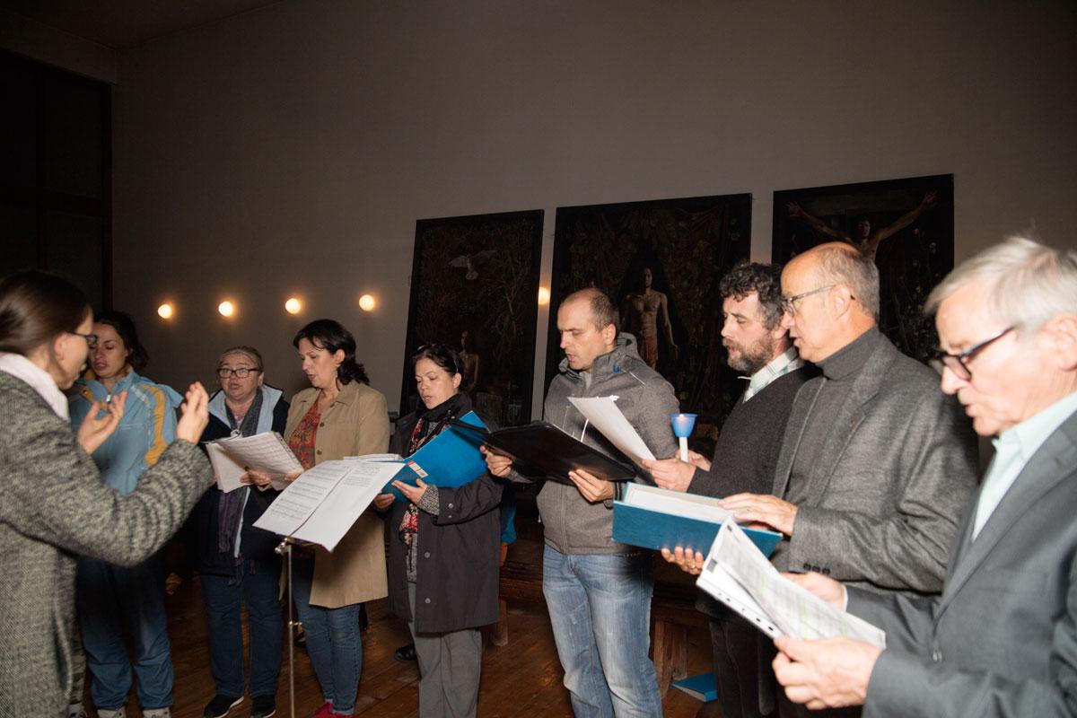 chór parafii podwawelskie